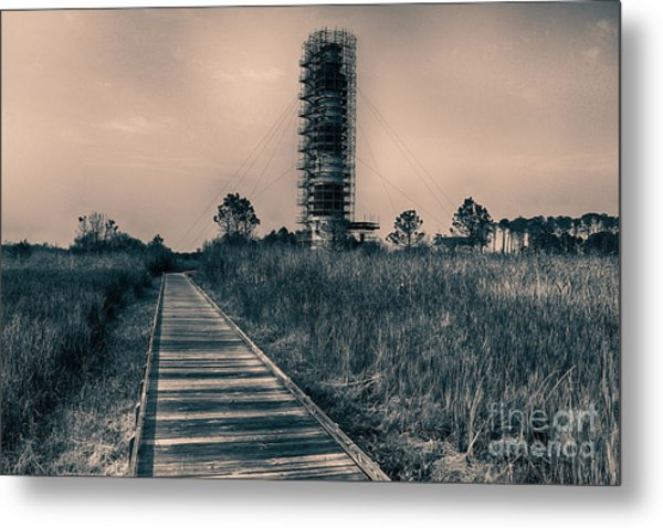 Extreme Makeover Lighthouse Edition Metal Print