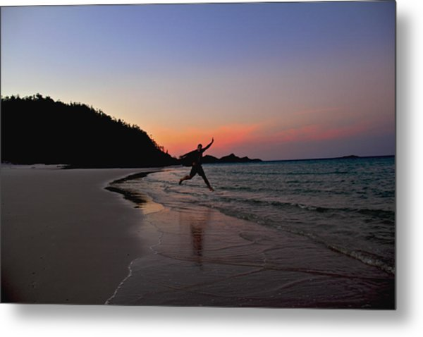 Metal Print featuring the photograph Exuberance by Debbie Cundy