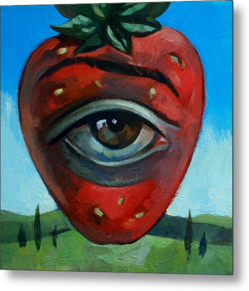 Eye Berry Metal Print by Filip Mihail