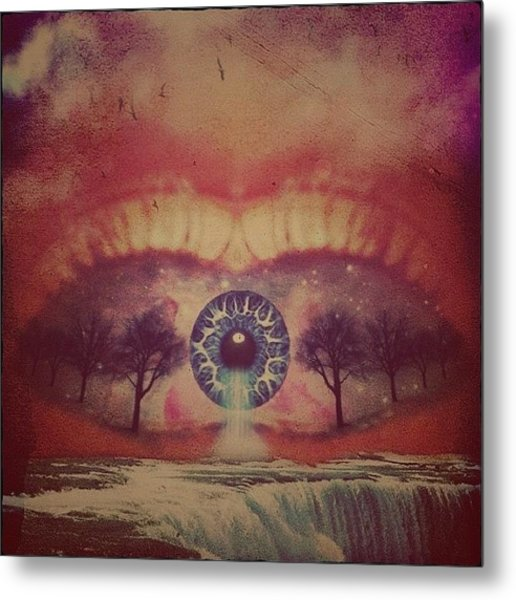 eye #dropicomobile #filtermania Metal Print