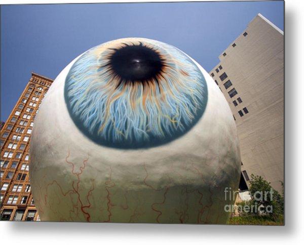 Eye Gigantus Metal Print