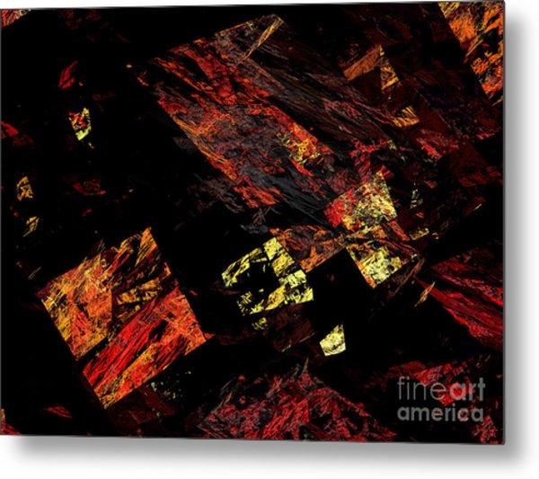 Eye Of The Storm 4 - Flying Debris - Abstract - Fractal Art Metal Print