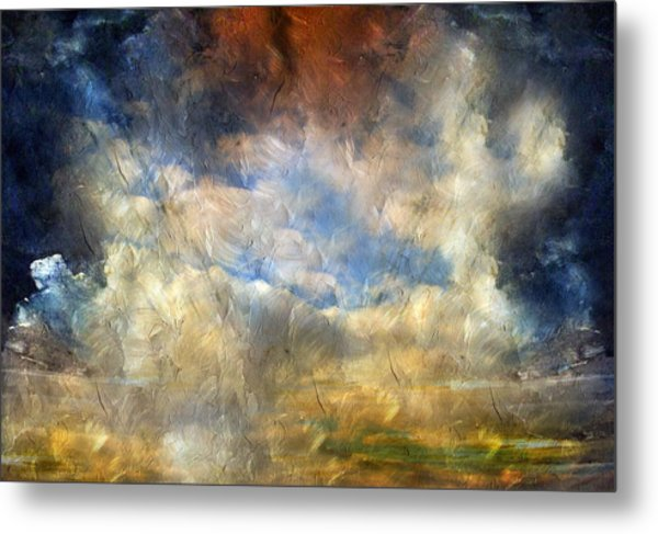 Eye Of The Storm  - Abstract Realism Metal Print
