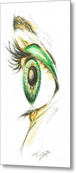 Eye Opener Metal Print