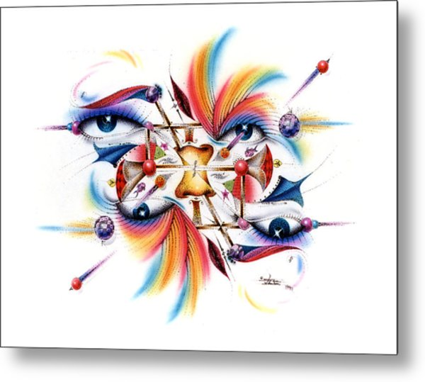 Eyecolor Metal Print
