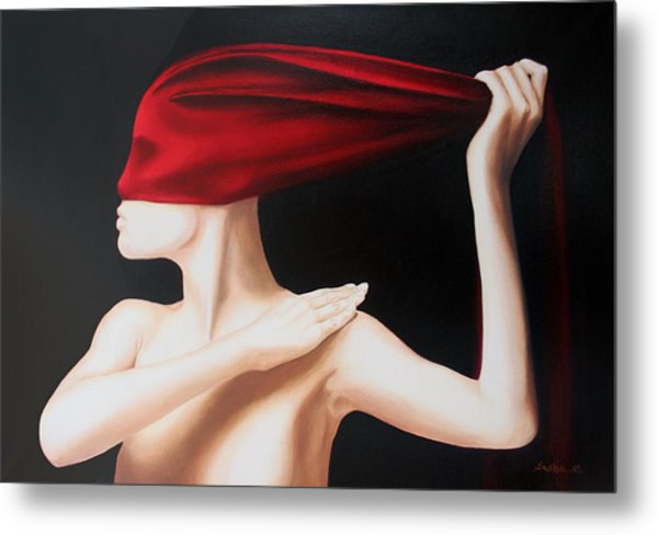 Eyes Wide Shut Metal Print