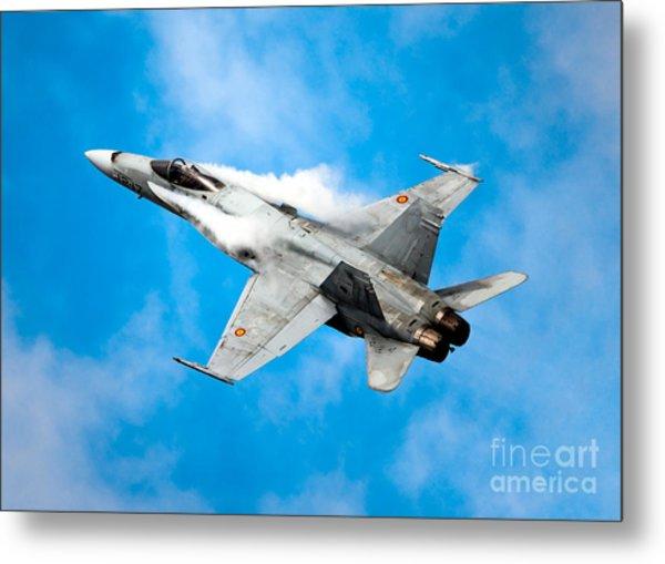 F-18 Fighter Metal Print