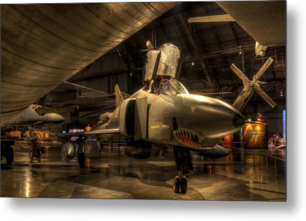 F-4 Phantom Metal Print
