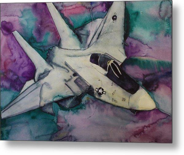 F14 Metal Print