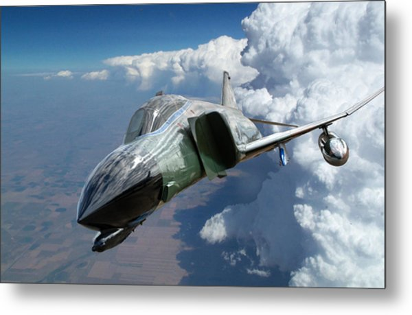 F4 Phantom Metal Print