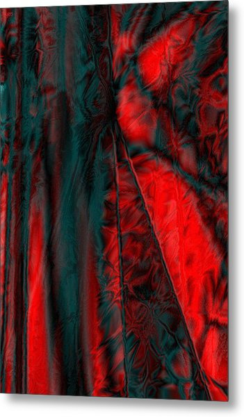 Fabric Study 01 Satin Metal Print