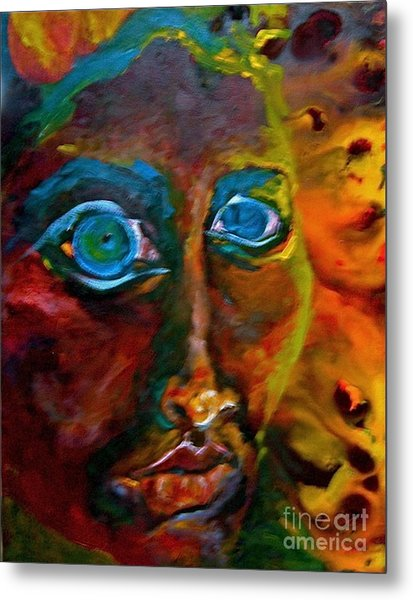 Face 6 Metal Print by Michelle Dommer