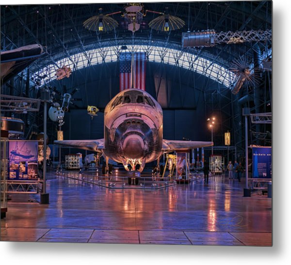 Face Of Discovery Metal Print