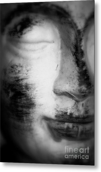 Face Of Divine Metal Print