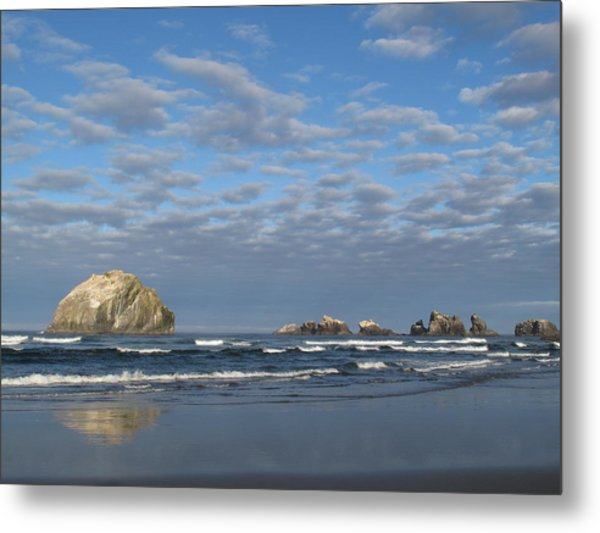 Face Rock Blues Metal Print