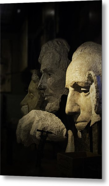 Faces Of Rushmore Metal Print