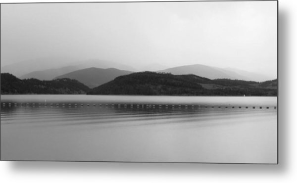 Fade To Gray Metal Print