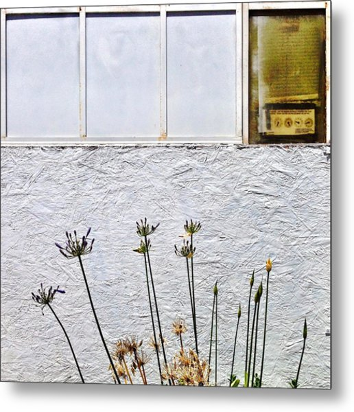 Faded Flowers Metal Print
