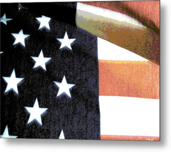 Faded Glory Metal Print by Rebecca Flaig