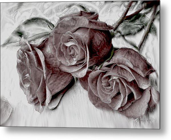 Faded Love Metal Print