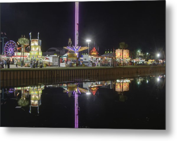 Fair Reflections Metal Print