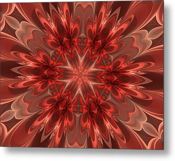 Fairest Of Them All Kaleidoscope Metal Print