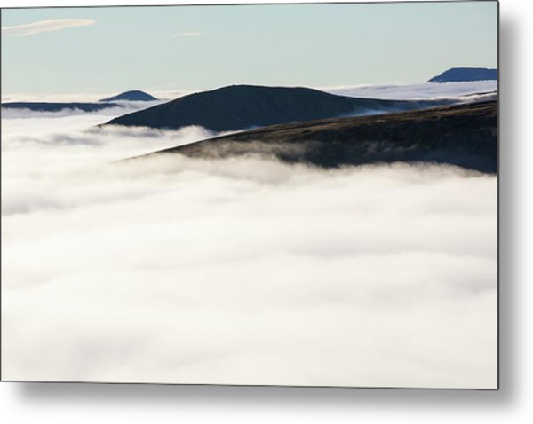 Fairfield From Red Screes Metal Print
