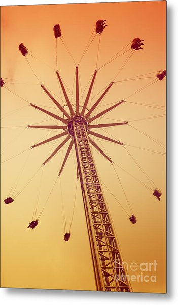 Fairground Ride Metal Print