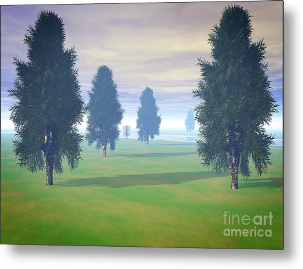 Fairway To Seven Metal Print