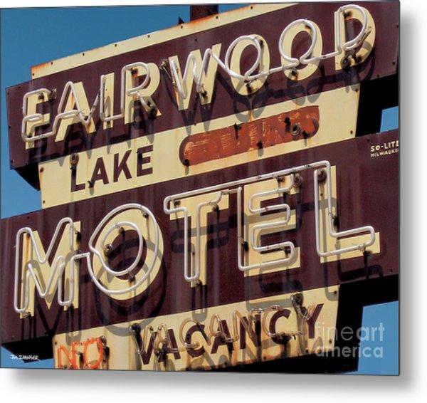 Fairwood Motel Metal Print