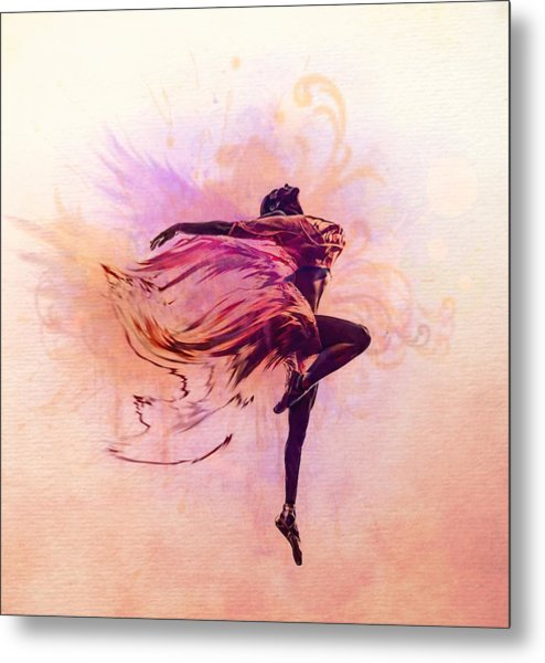 Fairy Dance Metal Print