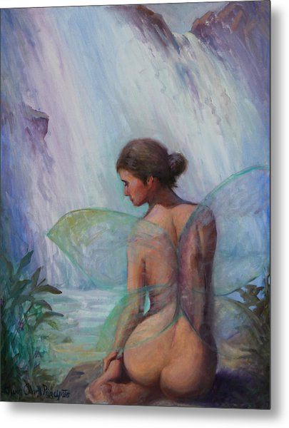 Fairy  Enchanted  Metal Print by Gwen Carroll