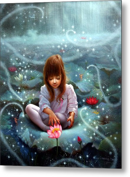 Girl And The Seven Fairy 3 Metal Print