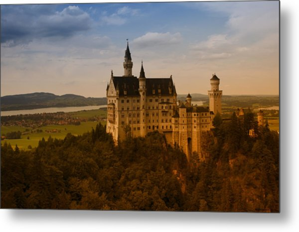 Fairy Tale Castle Metal Print