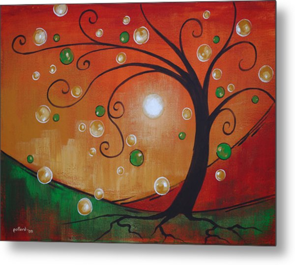 Fairy Tree Metal Print