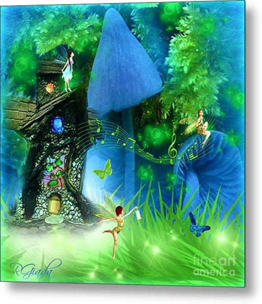 Fairyland - Fairytale Art By Giada Rossi Metal Print