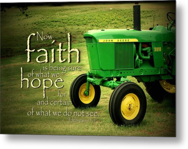 Faith And Hope Metal Print
