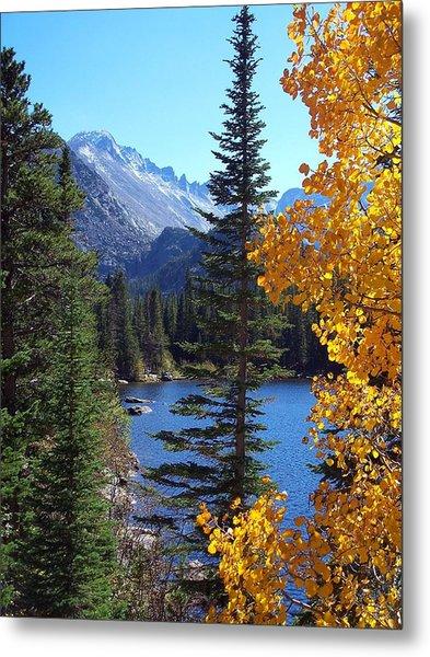 Fall At Bear Lake Metal Print