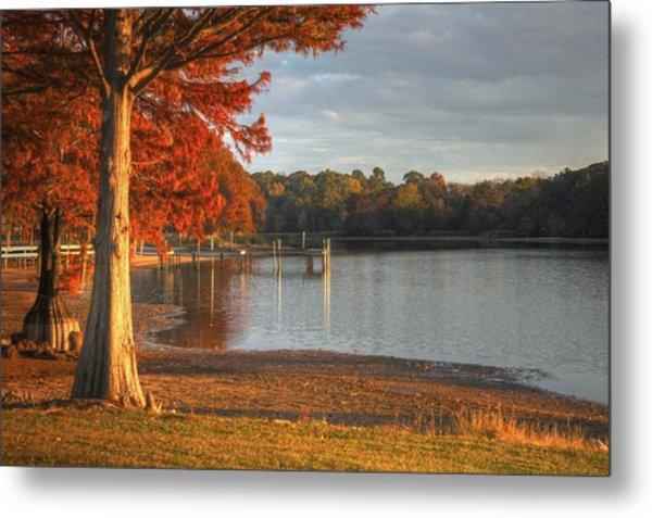 Fall At Georgia Lake Metal Print
