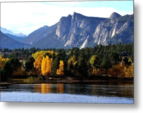 Fall At Lake Estes Metal Print