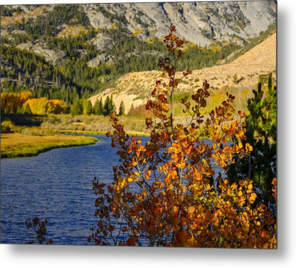 Fall At North Lake Metal Print