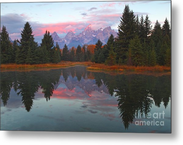 Fall At Schwabacher's Metal Print
