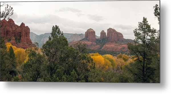 Fall Color Sedona 0495 Metal Print
