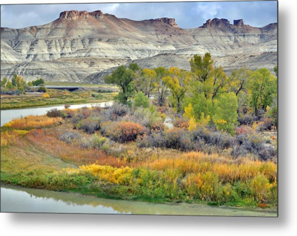 Fall Colors At Scott's Bottom Metal Print
