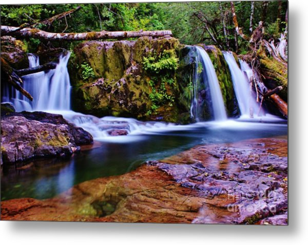 Fall Creek Oregon 3 Metal Print