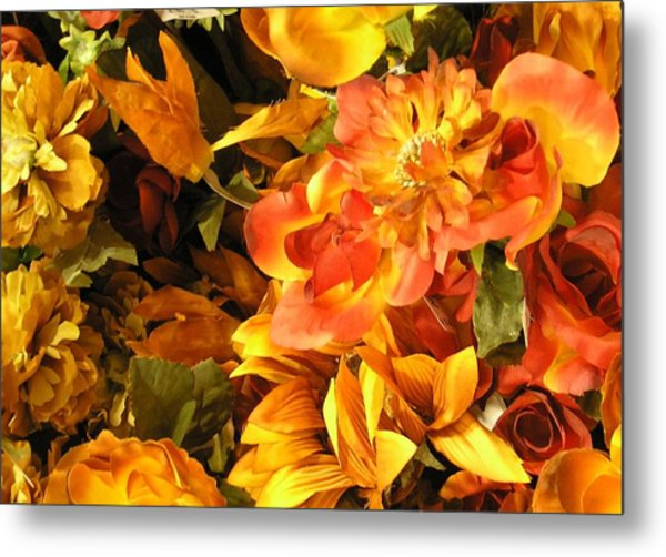 Fall In Bloom Metal Print