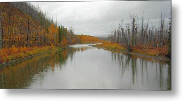Fall In Glacier National Park Metal Print