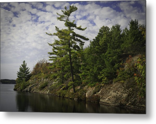 Fall In Northern Ontario Metal Print