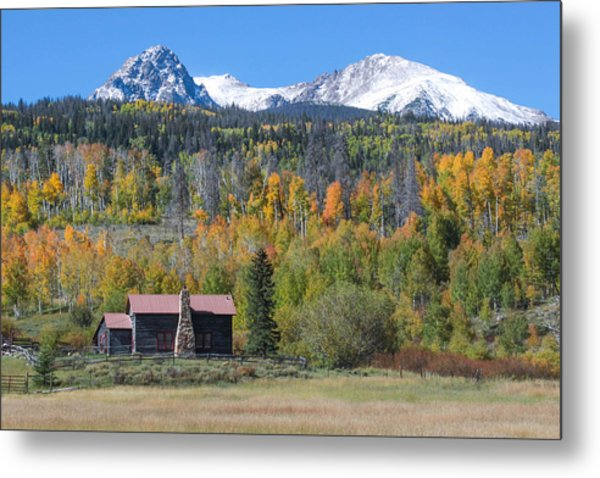 Fall In Summit County Metal Print by Andrew Serff