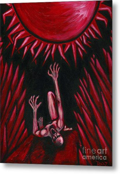 Fall Of Icarus Metal Print